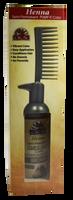 Henna Semi-Permanent Pump-It Color Comb - Brown 2.5oz / 73ml