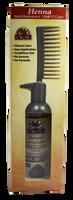 Henna Semi-Permanent Pump-It Color Comb - Dark Brown 2.5oz / 73ml