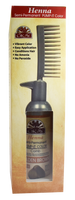 Henna Semi-Permanent Pump-It Color Comb - Golden Brown 2.5oz / 73ml