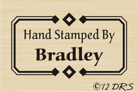 Diamond Custom Hand Stamped by Stamp
