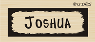 Scratch Frame Custom Name Stamp