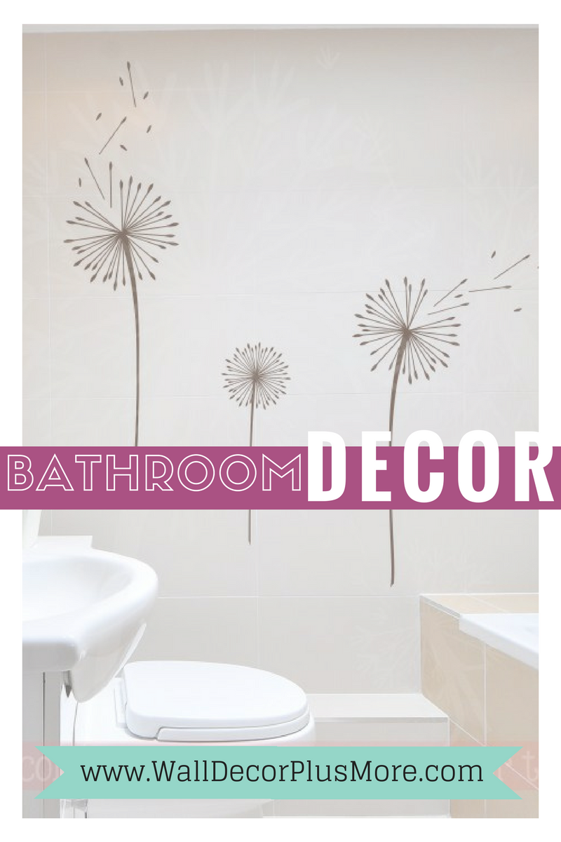 Bathroom decor wall decal stickers pinterest blog postgt1513869485 wall decals stickers to make your bathroom your own amipublicfo Image collections