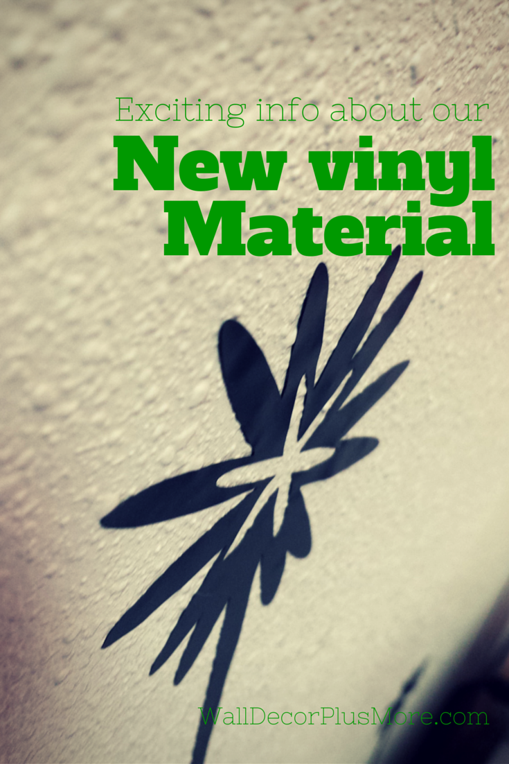Reasons Why Our New Wall Decal Vinyl Material Is Better Wall - Vinyl decals for textured walls