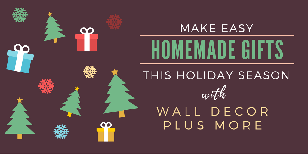 Make Easy Homemade Gifts This Holiday Season With Vinyl Decals - How to make homemade vinyl decals