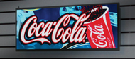 "Alpha 9650RGB 200CX040R - 6.25mm, Full Color Text &/or Graphics, 50""L x 11""H"
