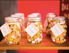 HotPoppin Gourmet Popcorn | 1 Mason Jar | 1.5 cup