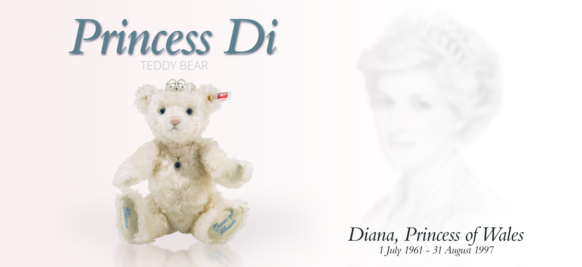 Shop for the Princess Di Teddy Bear Limited Edition