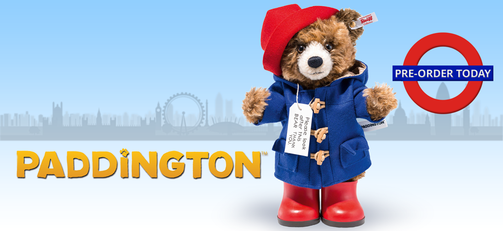 Paddington is back! Reserve your Paddington Teddy Bear today!