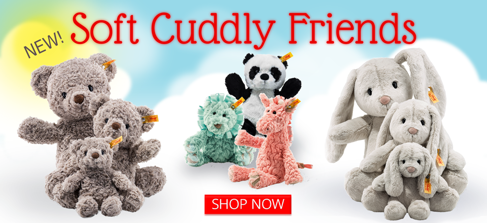 Introducing the New Steiff Soft Cuddly Friends!