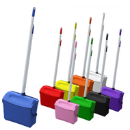 630015 - Color Coded Lobby Dustpan Set