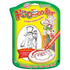Snowman Cookie Coloring Kit