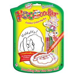 Ho Ho Ho! Cookie Coloring Kit