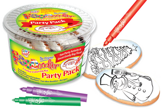 Snowman & Evergreen Cookie Party Pack