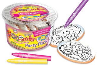 Bunny & Eggs Cookie Party Pack