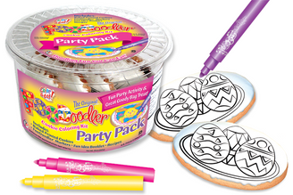 Eggs Cookie Coloring Party Pack