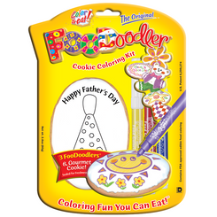 Tie Cookie Coloring Kit