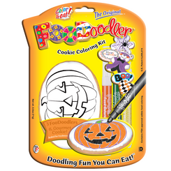 Pumpkin Cookie Coloring Kit
