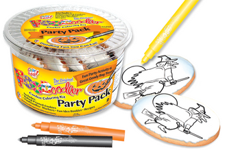 Witch Cookie Coloring Party Pack