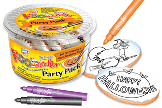 Happy Halloween & Witch Cookie Party Pack