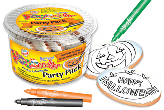 Happy Halloween & Pumpkin Cookie Party Pack