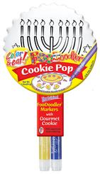 Menorah Cookie Pop