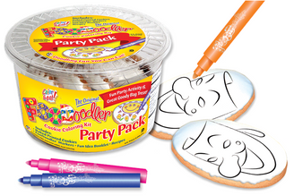 Mask Cookie Coloring Party Pack