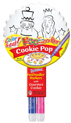Purim King & Queen Cookie Pop