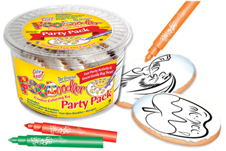 Rosh Hashana Cookie Coloring Party Pack