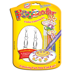Candles Cookie Coloring Kit