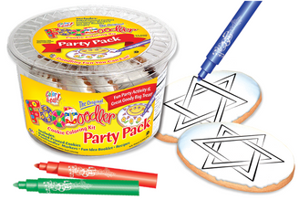 Star of David Cookie Party Pack