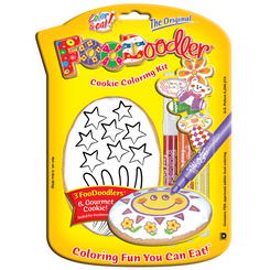 Fireworks Cookie Coloring Kit