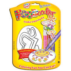 Mothers Day Cookie Coloring Kit, Hearts
