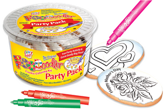 Mother's Day Cookie Coloring Party Pack