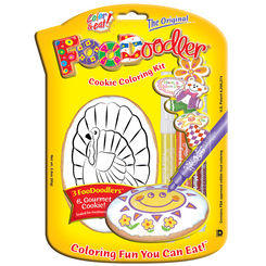 Turkey Cookie Coloring Kit