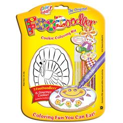 Turkey Cookie Coloring Kit