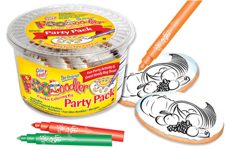 Harvest Cookie Coloring Party Pack
