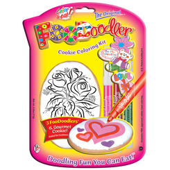 Roses Cookie Coloring Kit