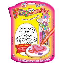 I Love You Bear Cookie Coloring Kit