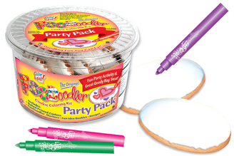 Valentine Cookie Coloring Party Pack