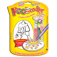 Doll Cookie Coloring Kit