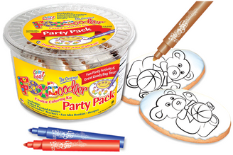 Bear Cookie Coloring Party Pack