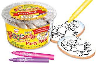 Doll Cookie Coloring Party Pack