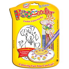 Puppy Cookie Coloring Kit