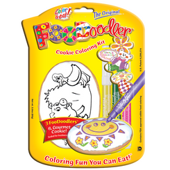 Pig & Duck Cookie Coloring Kit