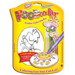 Rooster Cookie Coloring Kit