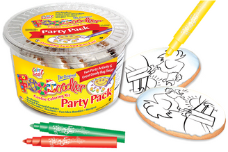 Rooster Cookie Coloring Party Pack
