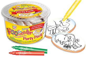Pig, Duck & Rooster Coloring Party Pack