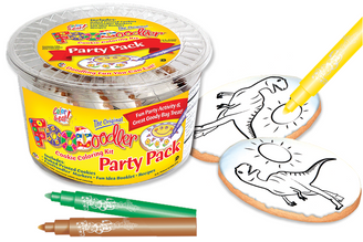 T-Rex Cookie Coloring Party Pack