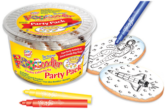 Astronaut & Spaceship Cookie Coloring Party Pack