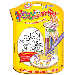 Basketball Cookie Coloring Kit